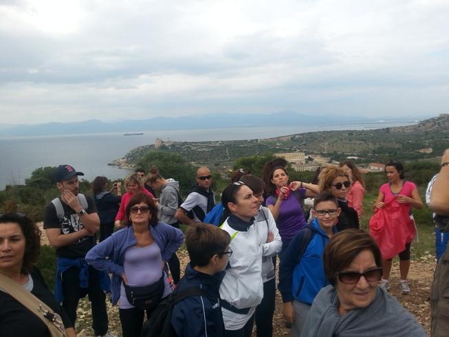 Sella del Diavolo, Giornata del Trekking Urbano (31 ottobre 2015)